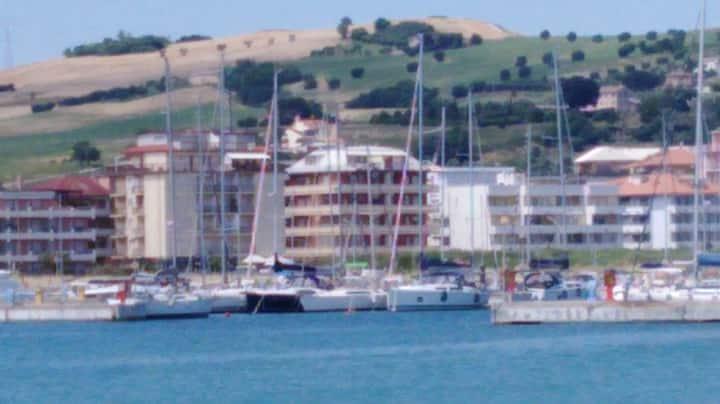Appartamento sul lungomare di Porto San Giorgio