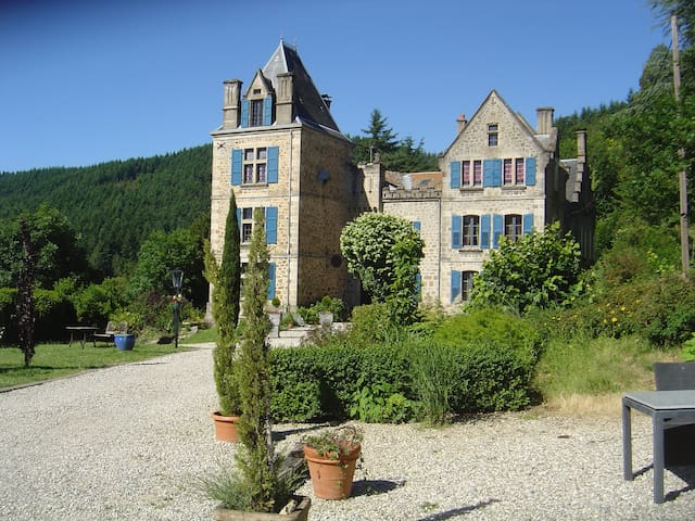 Paradise in the Ardeche - Saint-Julien-Labrousse - Hrad