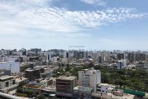 Vista de la terraza del departamento / View from apartment