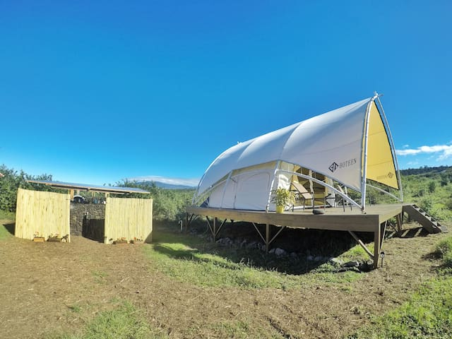 Star Gazing Tent (Aries) on Private Ranch