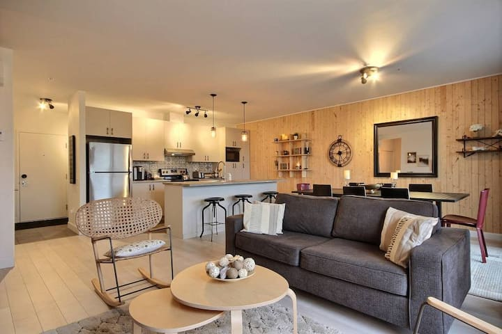 ❀ The Shack   2 CH-6 PERS Parking+Terrace+BBQ+Gym