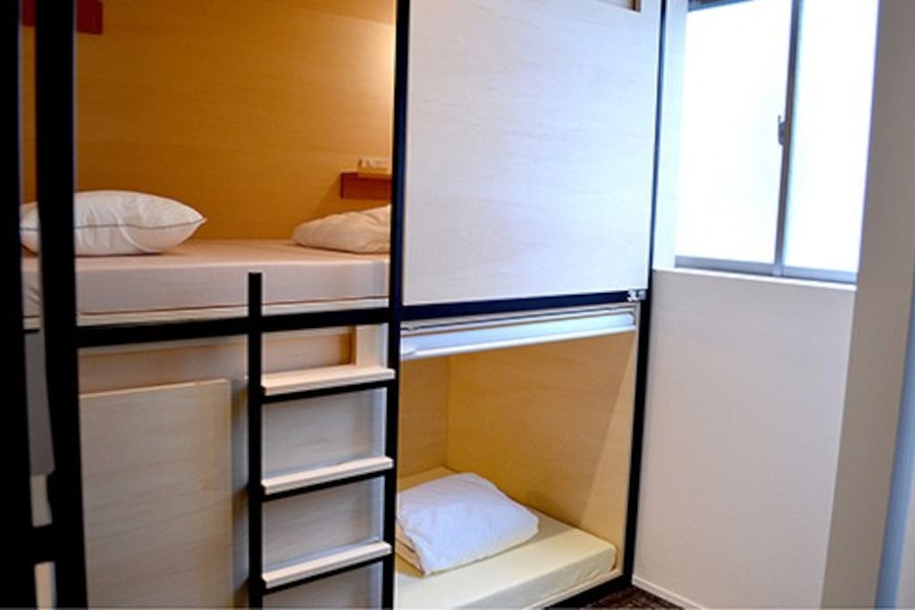 4 Beds Compartment 4人用コンパートメント