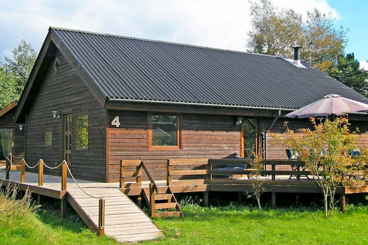 Superb Holiday Home in Hals Jutland with Terrace
