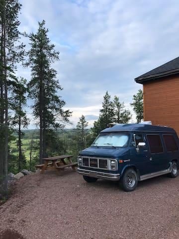 camping de luxe dans un VAN