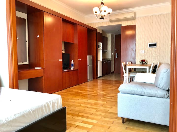 01 bedroom apartment, 5 minute to city center,