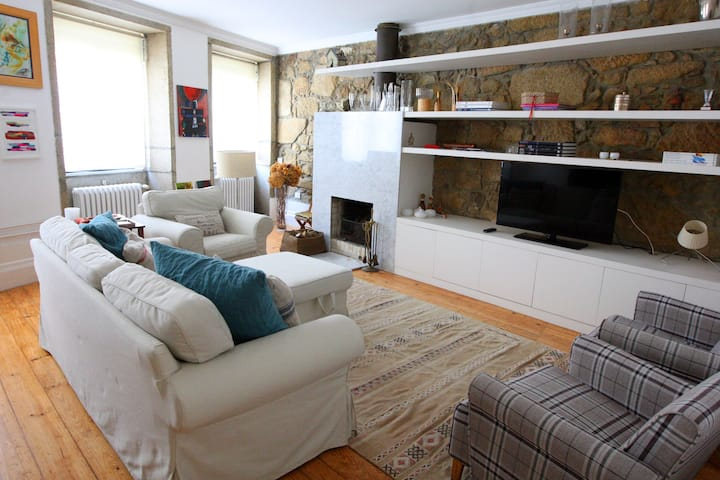 Cosy 2 bedroom apartment at Foz old town