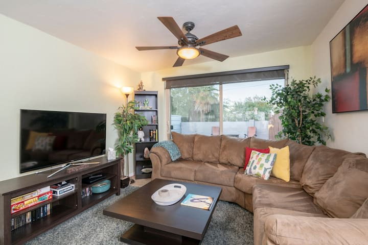 Private Downtown Home With Great Amenities.