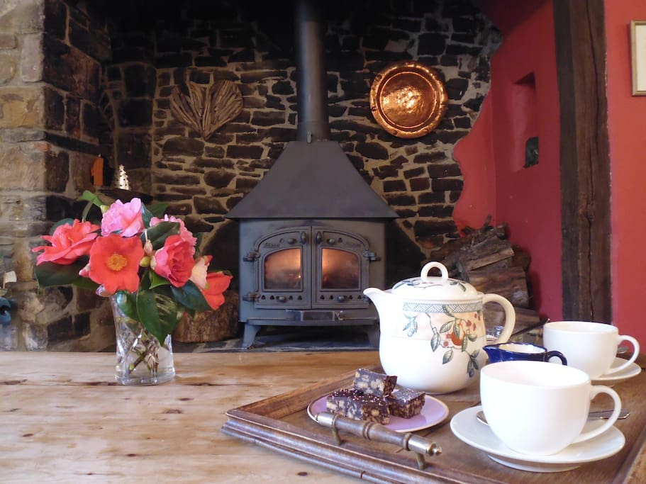 Relax by the Inglenook Fire