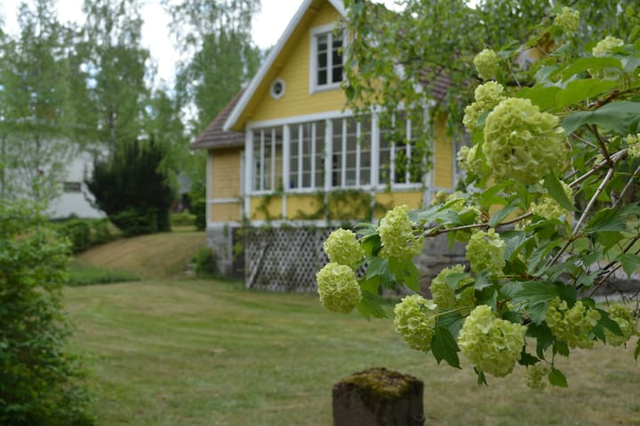 Beautiful villa by the river Mørrum
