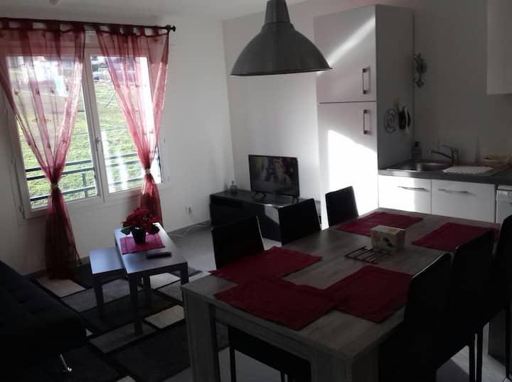 Appartement neuf à proximité du lac Léman / WIFI
