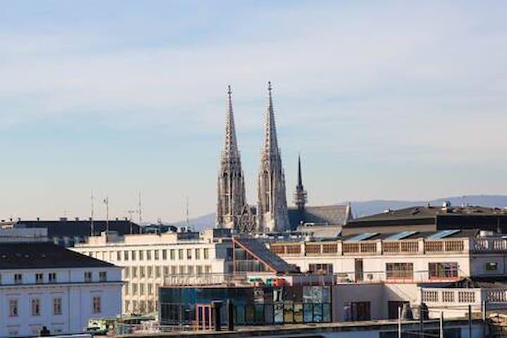 3-storey city-center loft terrace&view over Vienna