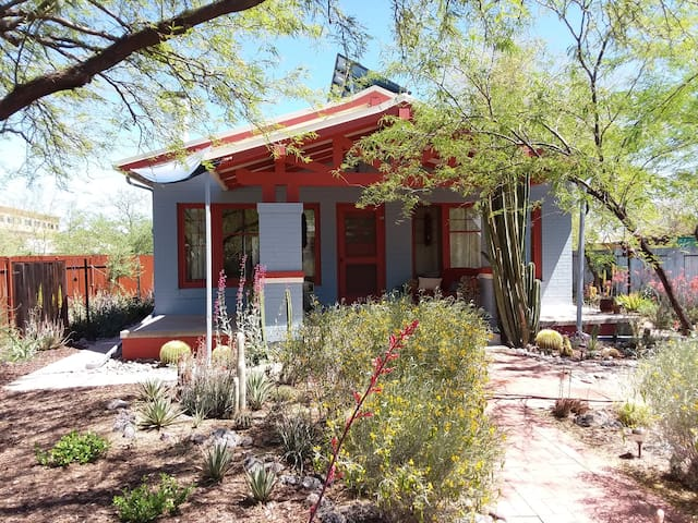 Enjoy a beautifully furnished 1917 home in Tucson!