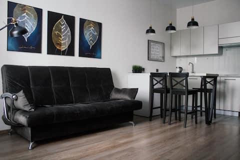 Стильная квартира с видом на Двину