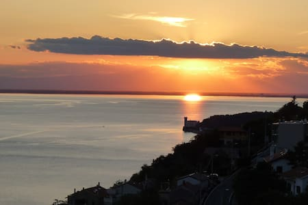 A balcony on the gulf - Trieste - Bed & Breakfast