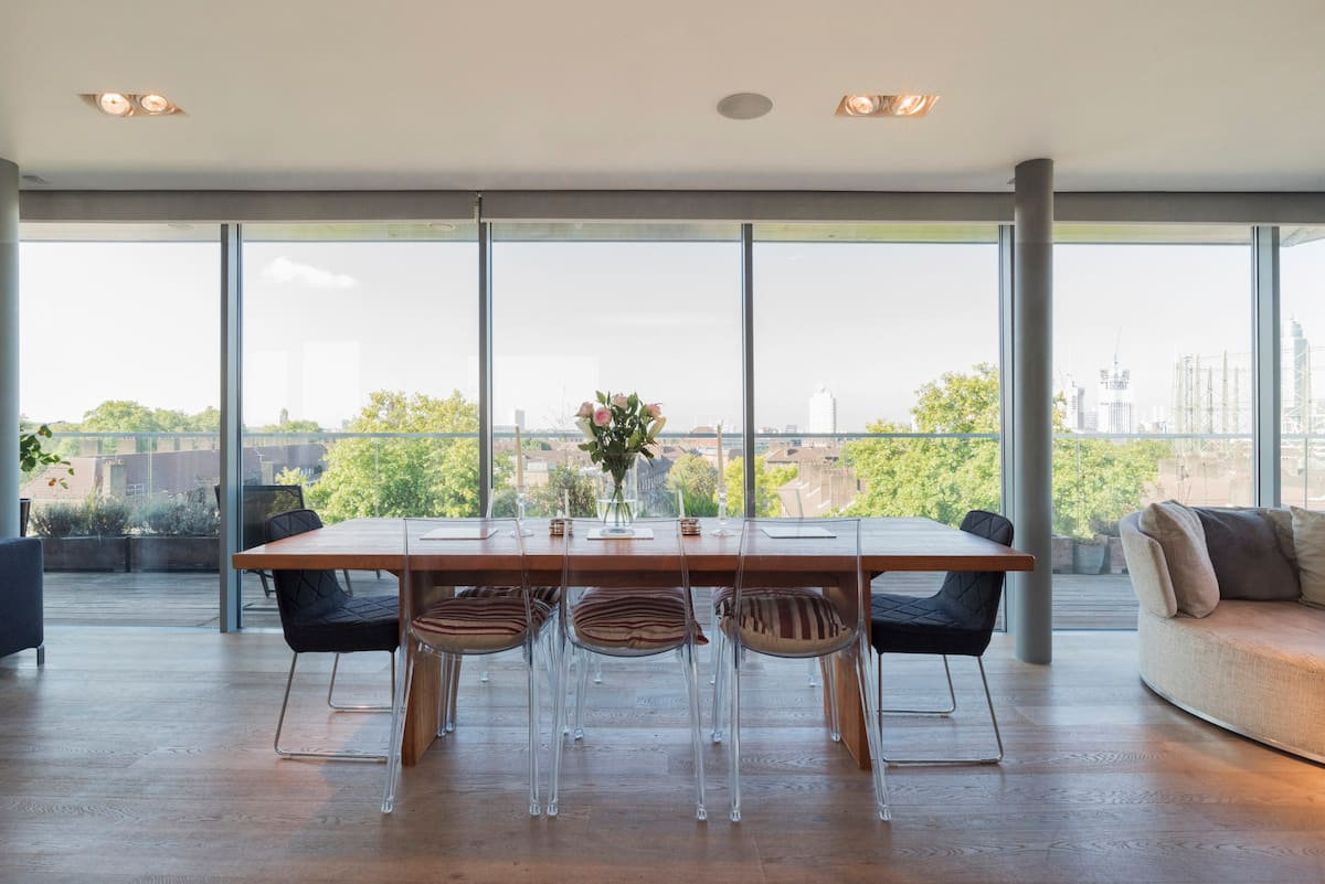 View Landmarks from This Luxury Penthouse Apartment