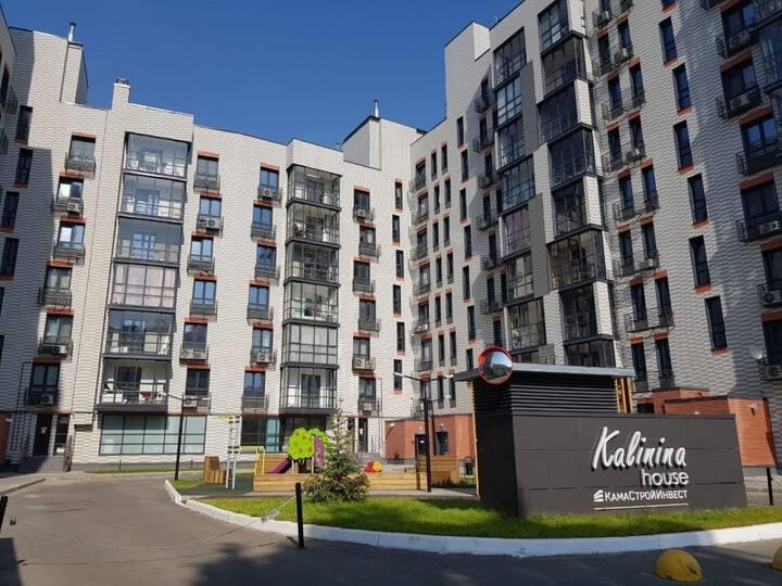 Новая стильная квартира в тихом центре города
