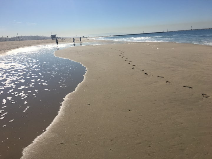 Steps to Sandy Beach  2 bd.+ on Venice Canal