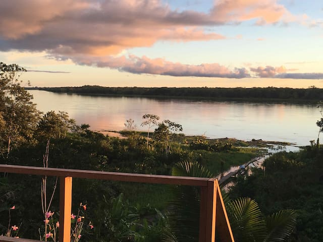 Cabañas Reserva Natural Natura Park Amazonas