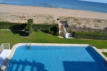 Atico 1ª linea acceso directo playa - Xeraco - 公寓