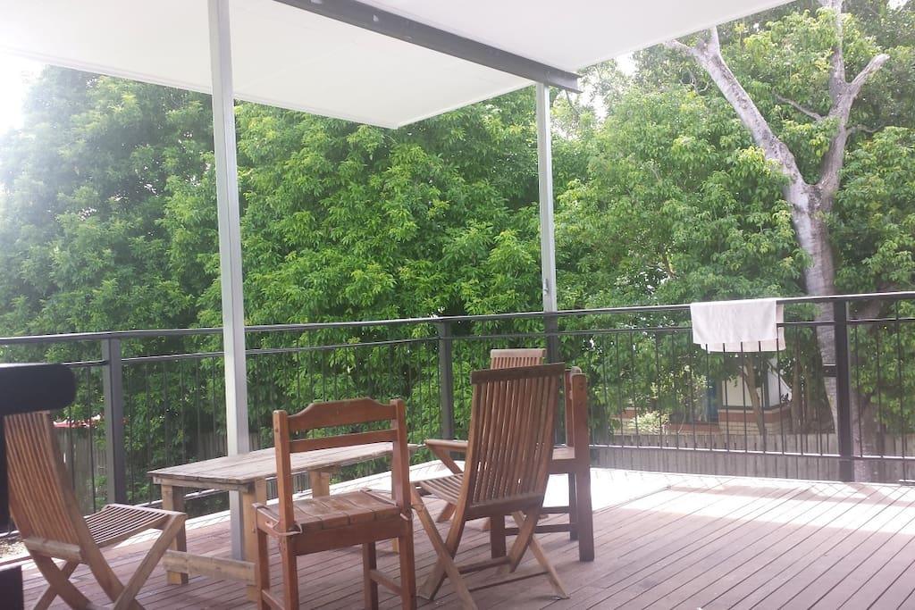 Cool Back deck
