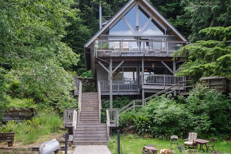 Spacious Lake Sutherland dog/family-friendly house - Port Angeles