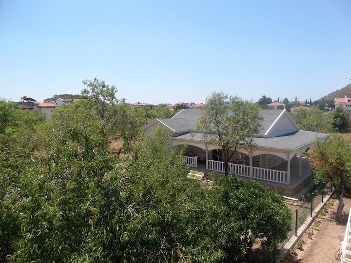 Palamutbükü ' nde müstakil bahçeli ev