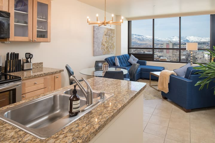 Royal Mountain View Penthouse Suite