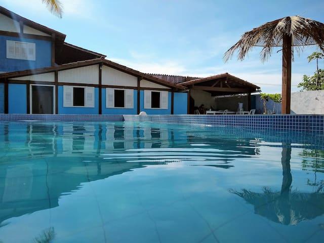 Casa com piscina de frente para o mar - Suíte 3