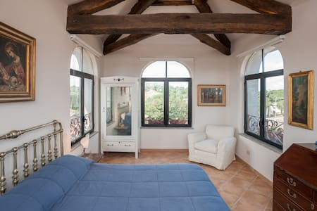 Exclusive attic - Historic Centre - Sutri - Apartment