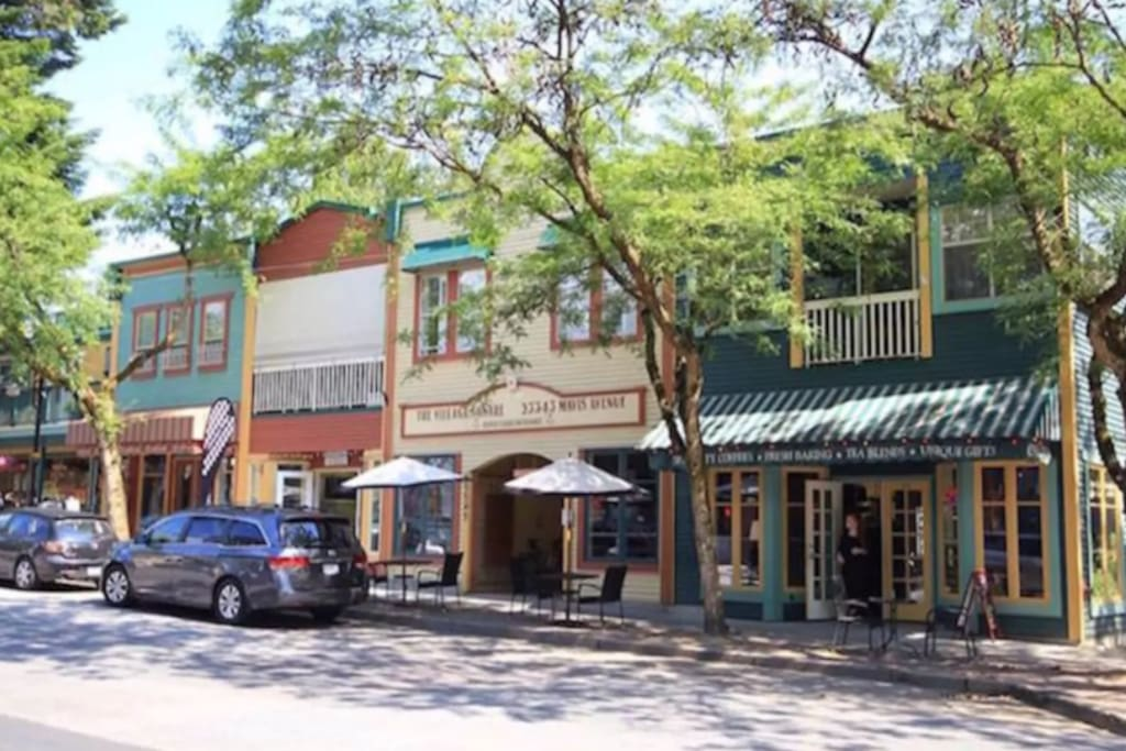 Historic Fort Langley ~ 6 minutes drive, 15 minute cycle