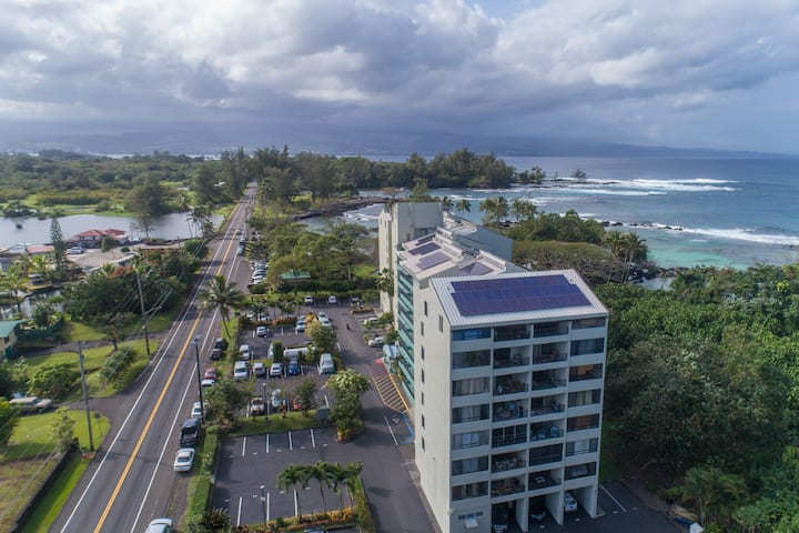 Mauna Loa Shores #405 - Next to Carlsmith Beach Park - Ocean Views! - Mauna Loa Shores #405