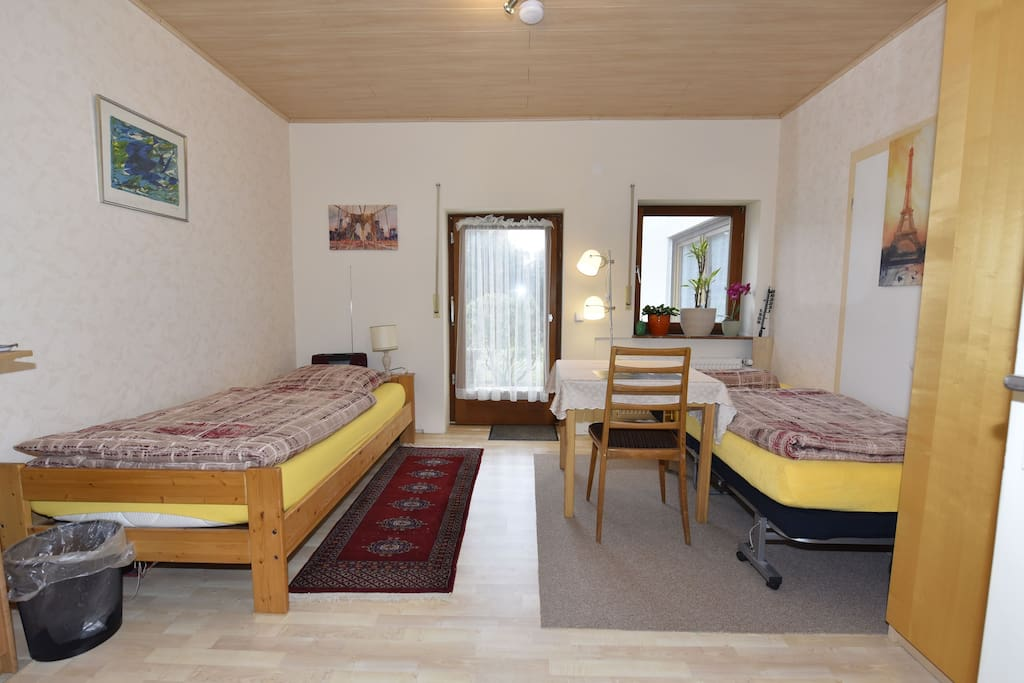 Gästezimmer mit Zusatzbett