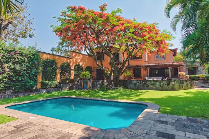 Casa Palomas - Paraíso primaveral