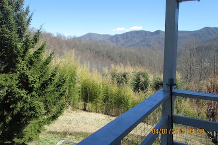 Owl Vacation Home-Incredible Views-Sleeps 7-Hottub - 매기 밸리(Maggie Valley)