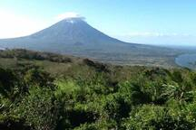 View point from Maderas volcano.