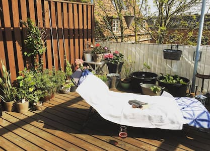 Charming apartment with a large private balcony - Copenaghen - Appartamento