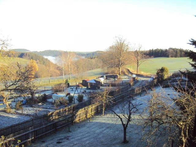 Ausblick aus dem Ferienhaus