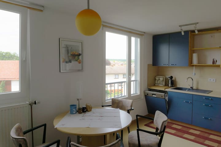 own apartement for documenta Kassel,30min by train