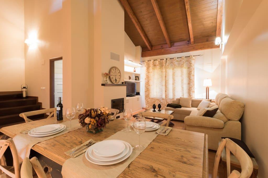 D plex solcampo casas en alquiler en sojuela la rioja for Alojamiento en la rioja espana