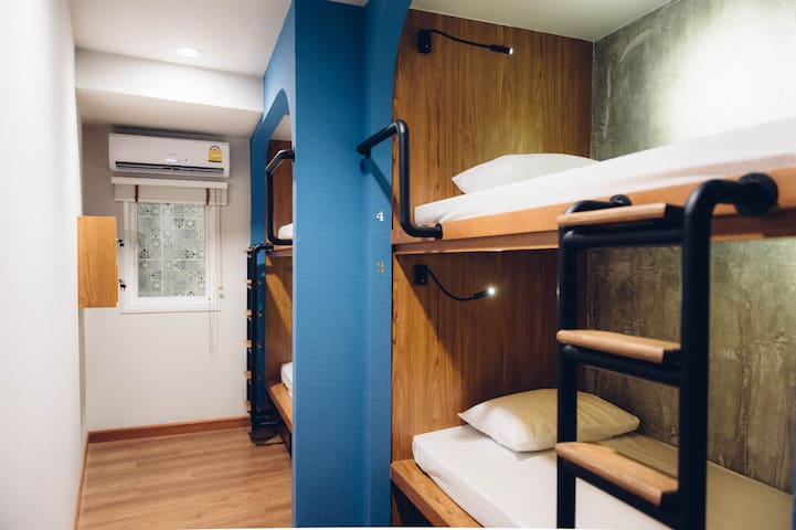 4-Bed Female Dormitory - Bangkok - Dormitorio compartido