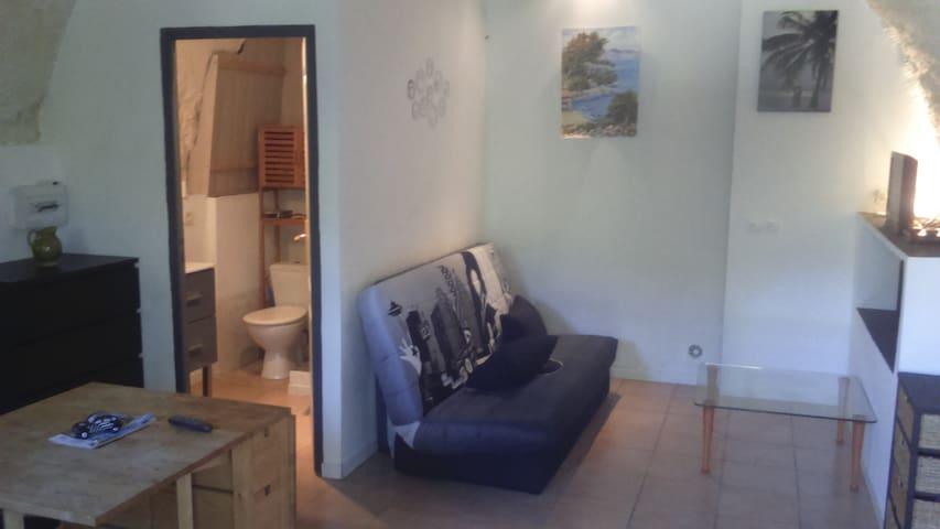 Joli petit studio au bord de l eau - Entrecasteaux - Wohnung