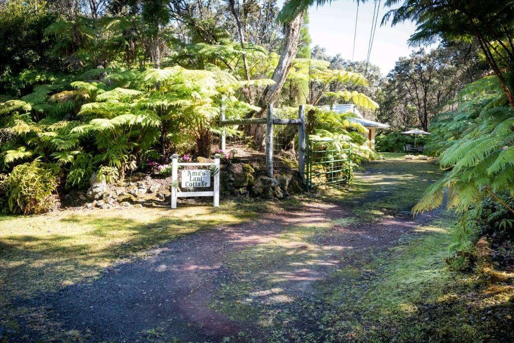 'Ama'u Lani Cottage Entrance