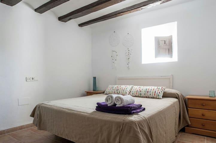 Habitacion privada en casa de campo - Sant Rafel - Huis