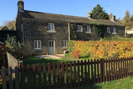 Stunning listed 1750 stone cottage with garden