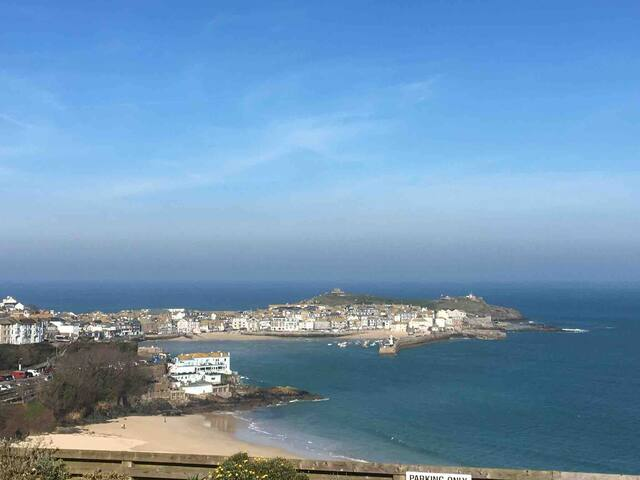 The beautiful St. Ives (Not the view from the property though unfortunately!)