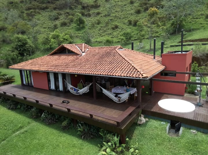 #Beautiful house with Bocaina National Park view !