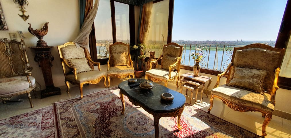 Majestic and Panoramic Nile view.