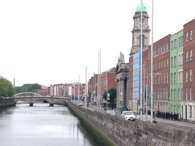 Private Riverview room,  Dublin city centre - Dublin - Huoneisto