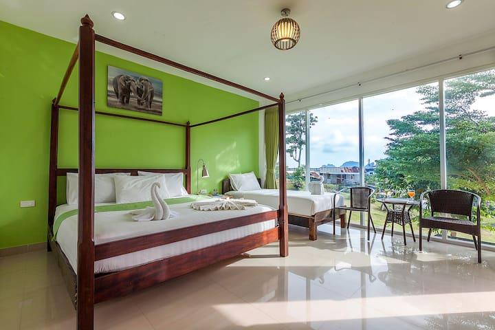 Sweet Villa Surround with Greenery
