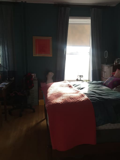 Beautiful light in the Bedroom